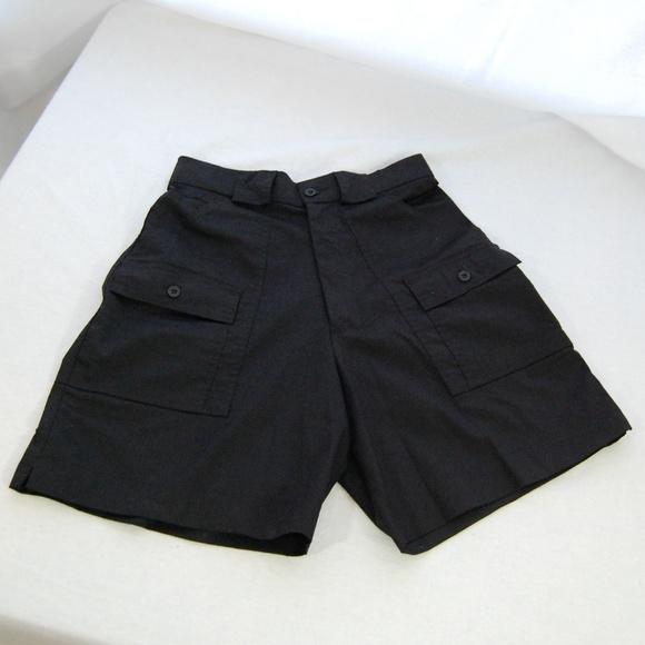 8c2a3c221a Sportif Women's Black High Waisted Cargo Shorts. M_5a7f2f8e9cc7efade748ef6c